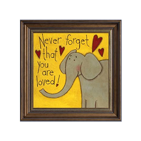 Amazon.com: Quedom _Framed Canvas Print Wall Art for Kids Room, with ...