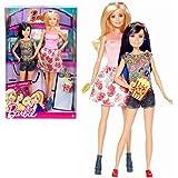 Barbie - Familia 2-Pack Muñecas Barbie y Hermana Skipper visita cine