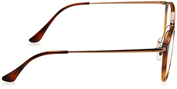 da69e439a8 Amazon.com  Eyeglasses Ray-Ban Optical RX 7140 5687 STRIPPED HAVANA   Clothing