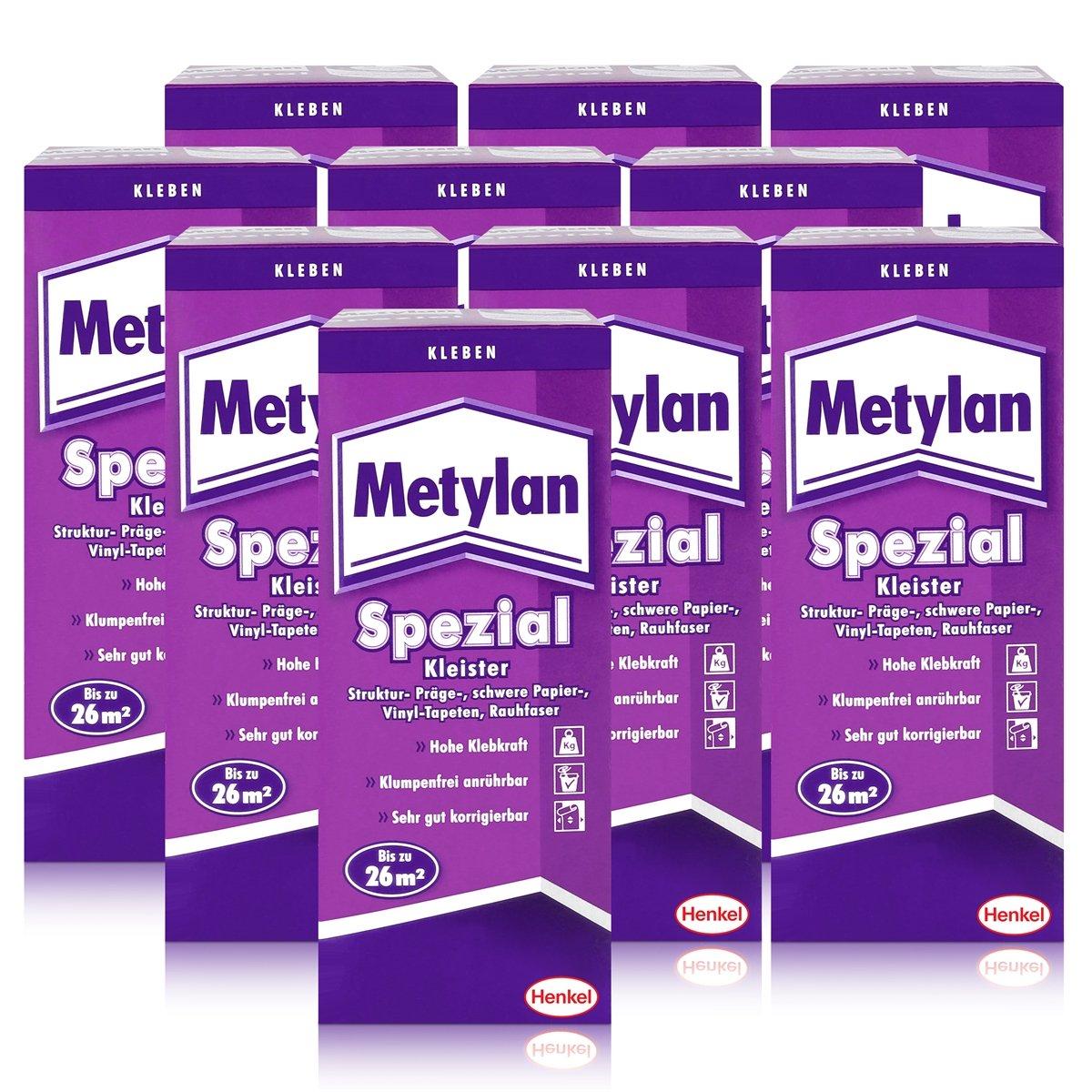 Fabelhaft Vinyltapete Kleben Sammlung Von Henkel Metylan Special Paste With Extra Power