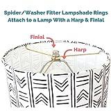 Lamp Shade Ring Set to Make a DIY Drum Ring Lamp
