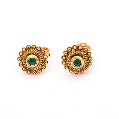 ac0a6bc104dc3d Buy Mystic Collections Sublime Suptou Antique Toe Rings For Women Online at  Low Prices in India   Amazon Jewellery Store - Amazon.in