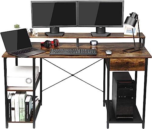 OUTFINE Desk Computer Desk Office Desk - the best home office desk for the money