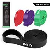 INTEY Pull Up Bands Stretch Resistance Bands 4 Levels Assist Bands for Strength Exercise Set of 4