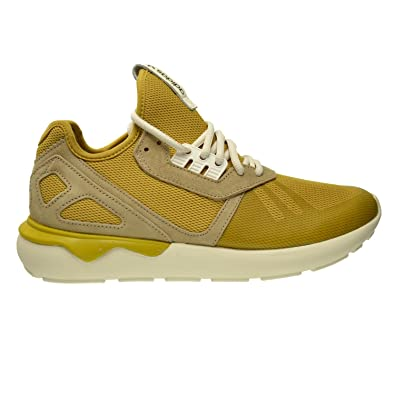 d2cda8da6d7c Adidas Tubular Runnner Men s Shoes Spice Yellow Clear Sand Legacy White  b23886 (7.5