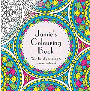 Jamie's Colouring Book: Adult colouring featuring mandalas, abstract and floral artwork