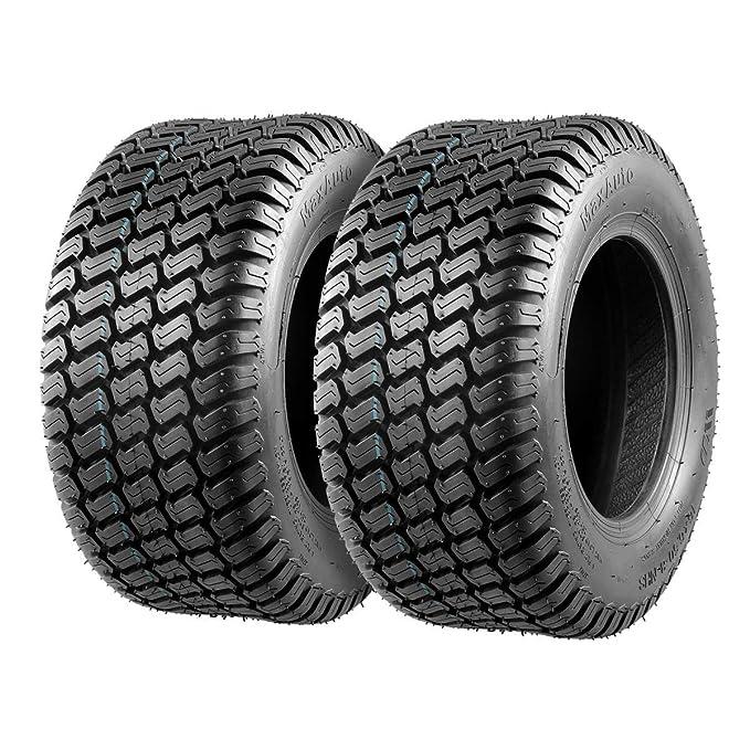 MaxAuto Neumáticos sin cámara para Tractores cortacésped (4 ...