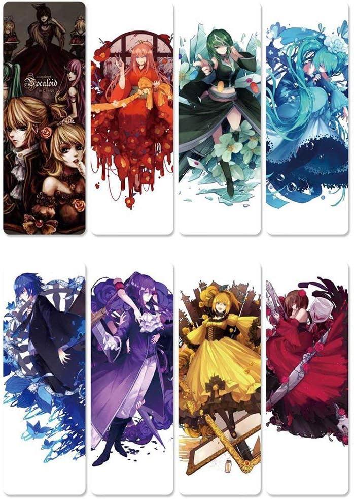 Studenten ALTcompluser Anime The Seven Deadly Sins Magnetische Lesezeichen Set 8-Teile Kinder Perfekt f/ür Leser Set 1 Fotoalbum Tagebuch