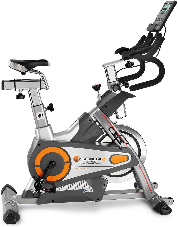 BH Fitness - Bicicleta Estã¡Tica i.spada 2 Racing: Amazon.es ...