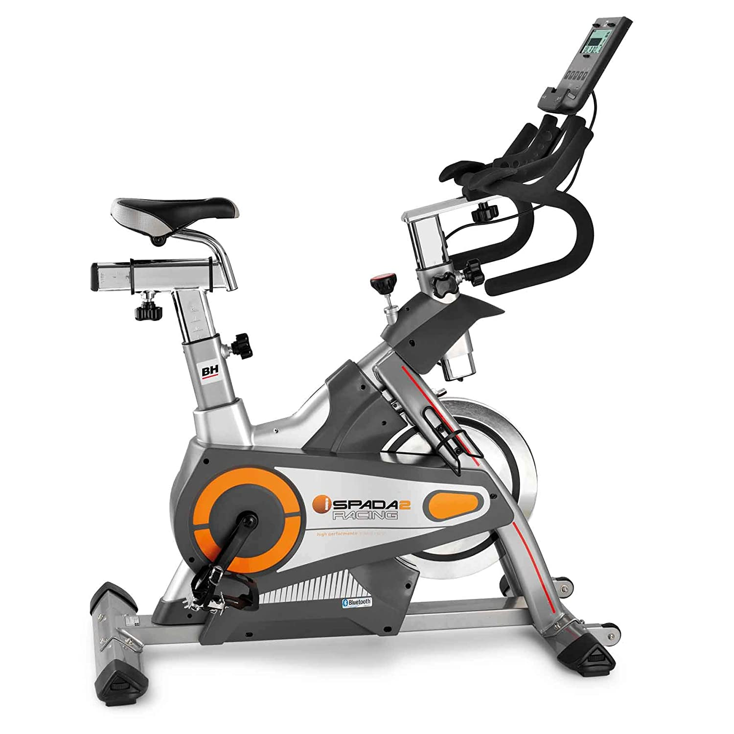 BH Fitness i.SPADA 2 RACING H9356I Indoorbike - Indoorcycling - 3-faches Bremssystem - Android Apple kompatibel