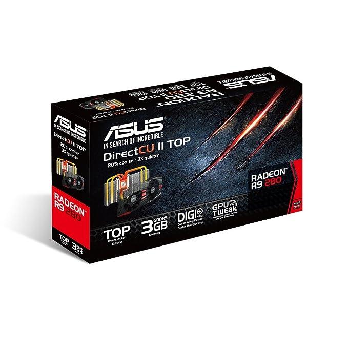 Amazon.com: Tarjetas Gráficas de Asus R9280-DC2T-3GD5 ...