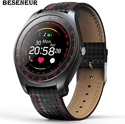 Amazon.com: Beseneur V10 Smart Watch Hombres con la cámara ...