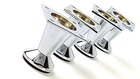 Amazon.com: knightsbrandnu2u 4 x Patas para muebles metal ...