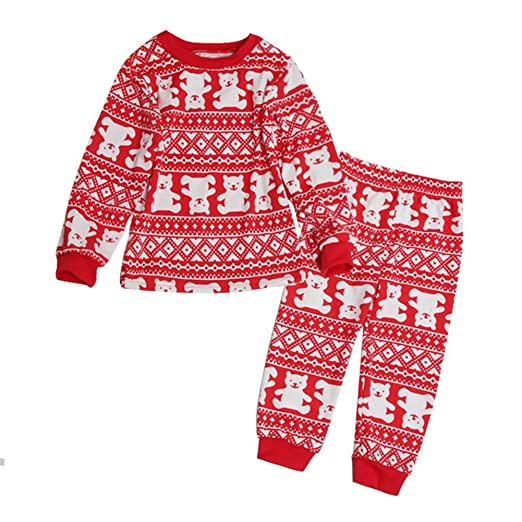 0d461e0c2d Image Unavailable. Image not available for. Color  Daxin Family Matching  Clothes Santa Suit Christmas ...