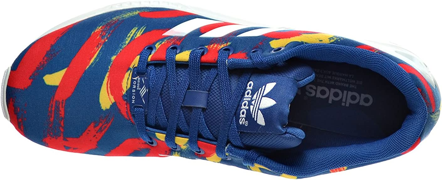 adidas ZX Flux W BleuBlancRouge S77313 (Taille: 8,5