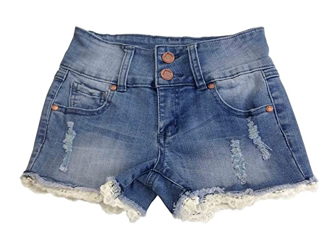 Amazon.com: Pinc Premium Big Girls 'High Waisted Denim ...