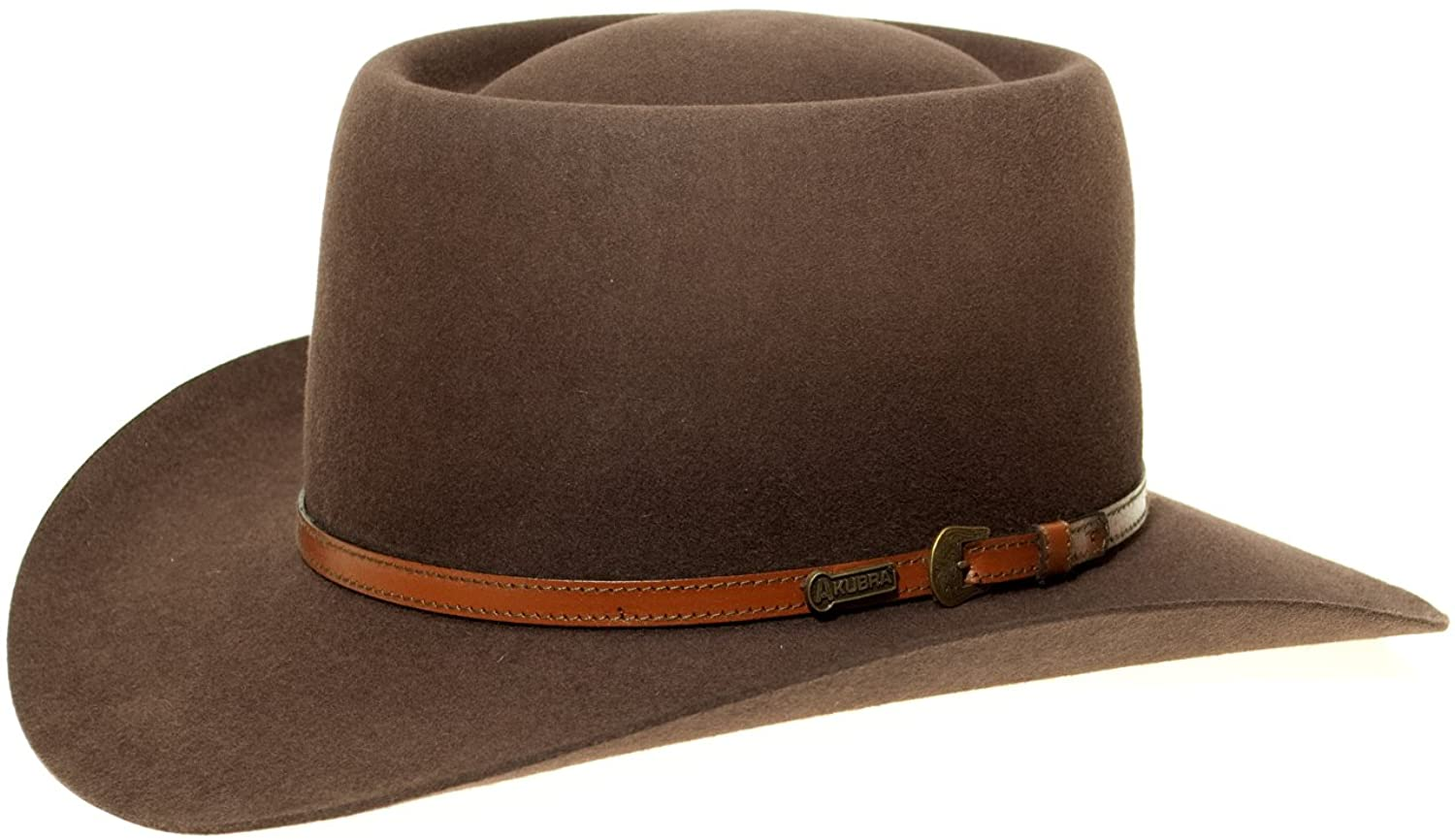 Akubra Down Under Filzhut aus Australien Rodeo Brown