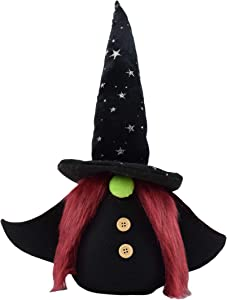 """JOYZILLA Super Cute 14"""" Halloween Witch Gnome Plush Figure 