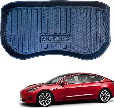 Fit Tesla Model 3 Frunk Mat Front Trunk Mats Cargo Liner All Weather Tesla Model 3 Accessories Front Trunk Mat 2021+