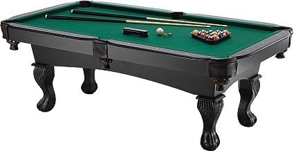 Amazoncom Fat Cat Kansas Foot BilliardPool Game Table With - Seven foot pool table