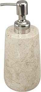 Creative Home Champagne Marble Dalton Collection Liquid Soap Dispenser