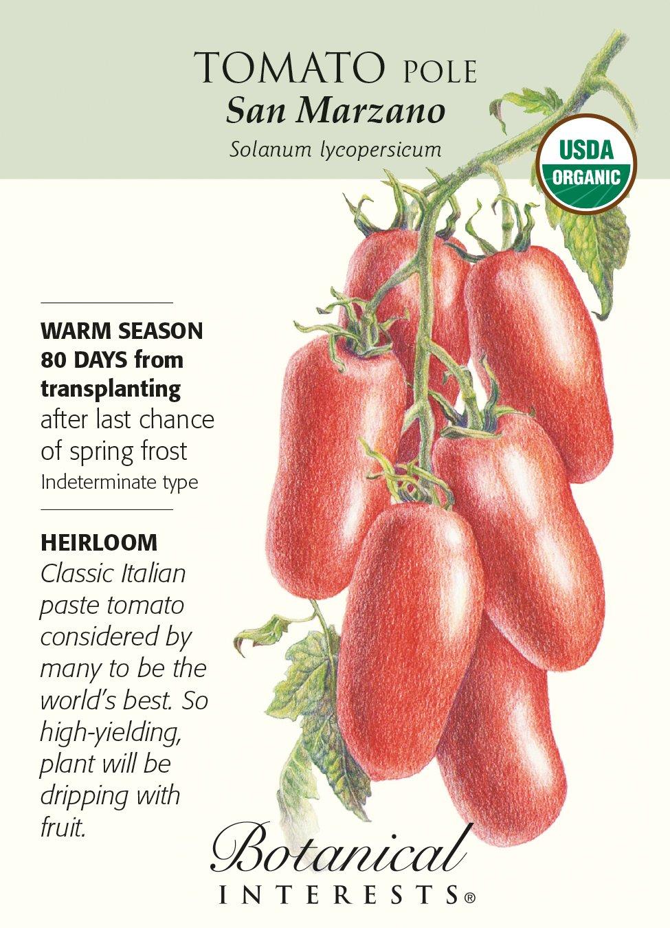 """San Marzano"" Organic Tomato Seeds"