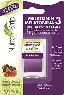Nutra-Strip Melatonin 3 / Melatonina 3 X10 Pack