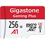 Gigastone 256GB Micro SD Card, Gaming Plus, Nintendo Switch Compatible, High Speed 100MB/s, 4K Video Recording, Micro…