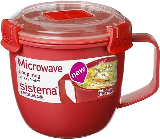 Amazon.com: Sistema 1141 - Taza grande para sopa de ...