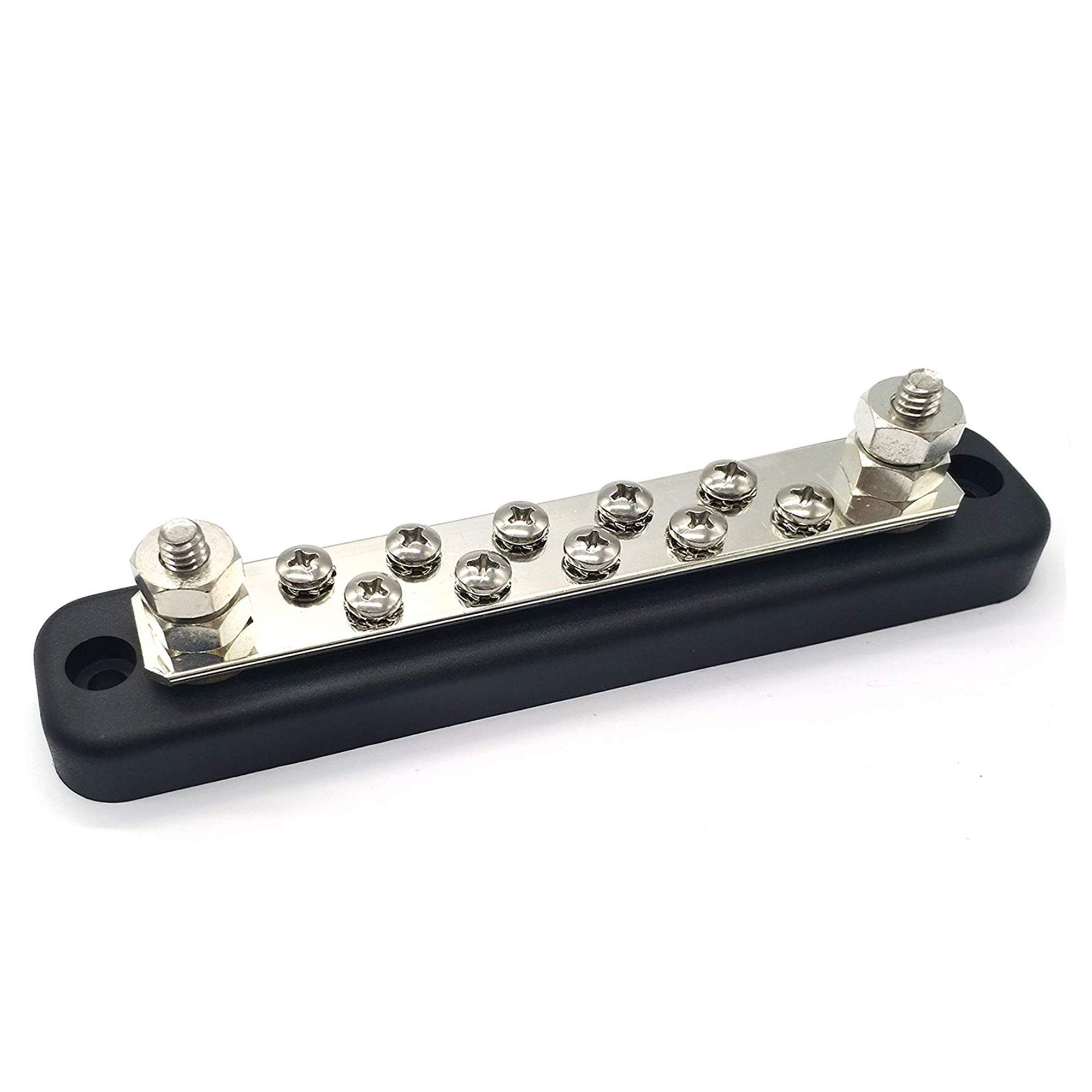 IZTOSS 150A Common Line Buss Bar 10 Terminals power and ground Junction distribution Block