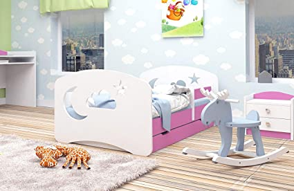 Letti Ecologici Per Bambini.Letto Per Bambini Junior Lettino Per Bambino Con Materasso E