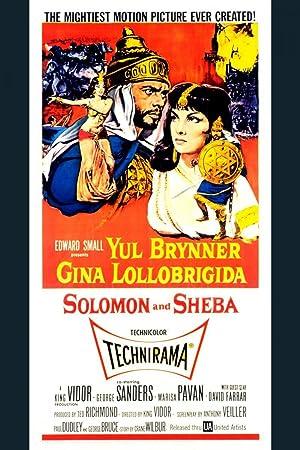 watch solomon and sheba 1959 online free