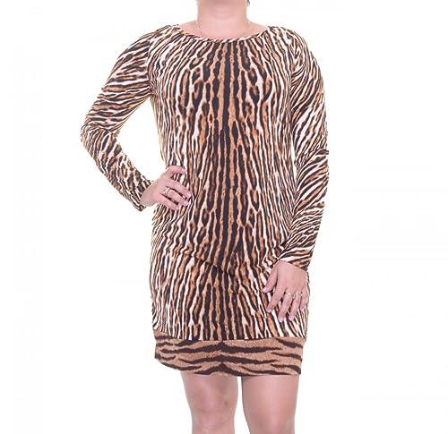 Michael Kors Women's Animal Print Long Sleeve Sheath Dress