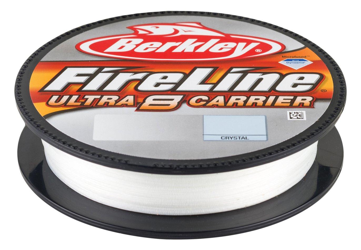 Crystal Berkley Bu8Fl3004-Cy Fireline Ultra 8 Fishing Line 300 yd//4 lb