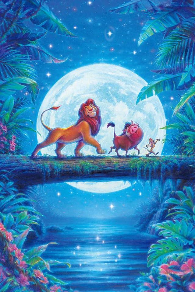ディズニー ライオン・キング ハクナ・マタタ  iPhone(640×960)壁紙画像
