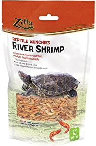 Zilla Munchies River Shrimp Reptile Food