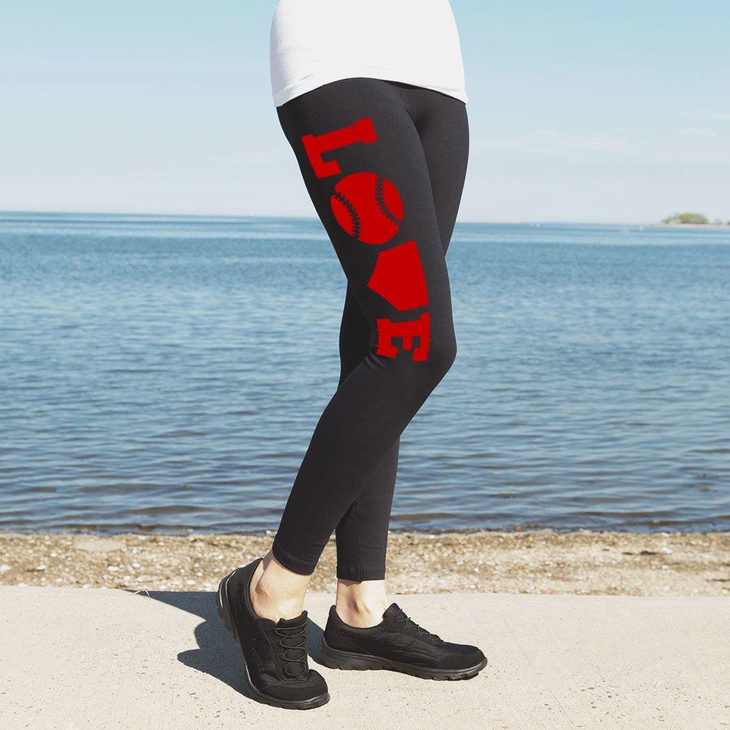 Softball High Print Legging Love sb-02520