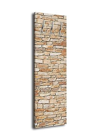 wandmotiv24 Perchero Piedra Natural Muro Claro G216 40 x 125 ...