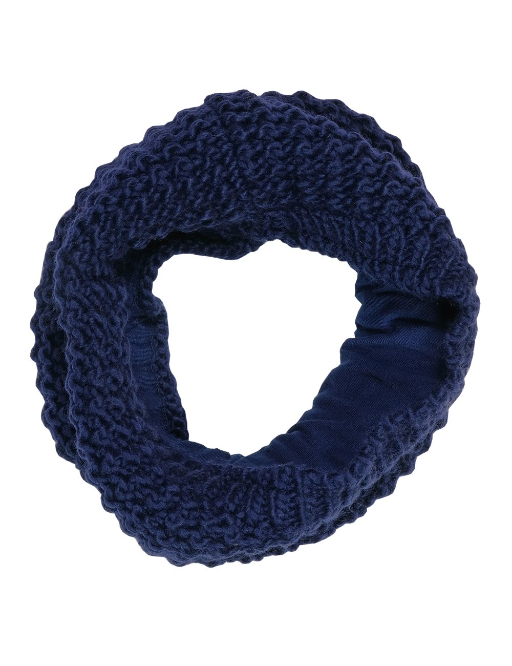 maximo Girl's Tube, Gefüttert Neckerchief maximo Girl' s Tube Blue (Navy 48) One Size 73673-820700_48