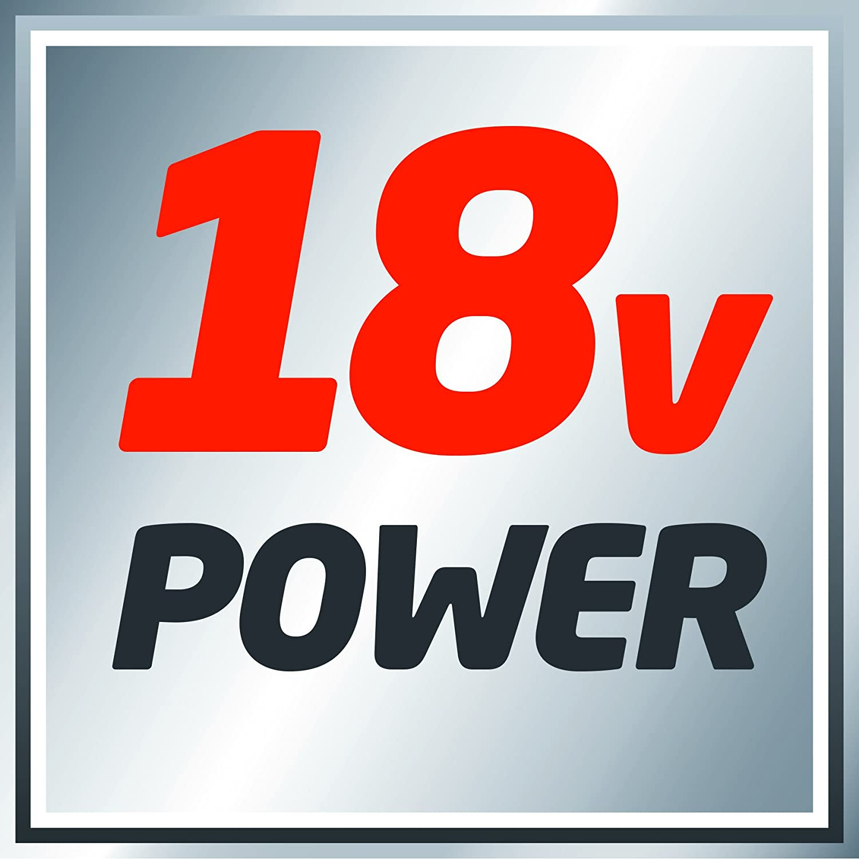 Einhell Perceuse visseuse sans fil sur batterie TE-CD 18 Li Solo Power X-Change vitesse 1 18 V, R/égime : 0-1350 trs//min, Couple : 48 Nm, 24 positions : 0-320 trs//min R/égime vitesse 2