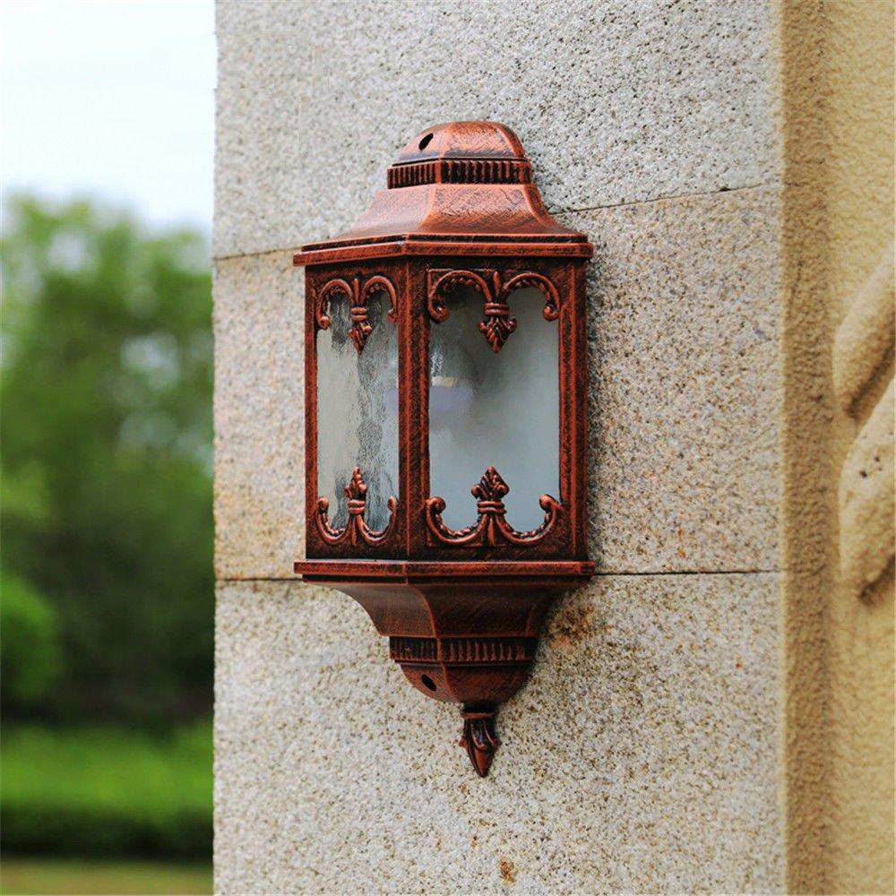 Firsthgus Applique da parete Lampade da Parete industriale da esterno con retroilluminazione per esterni