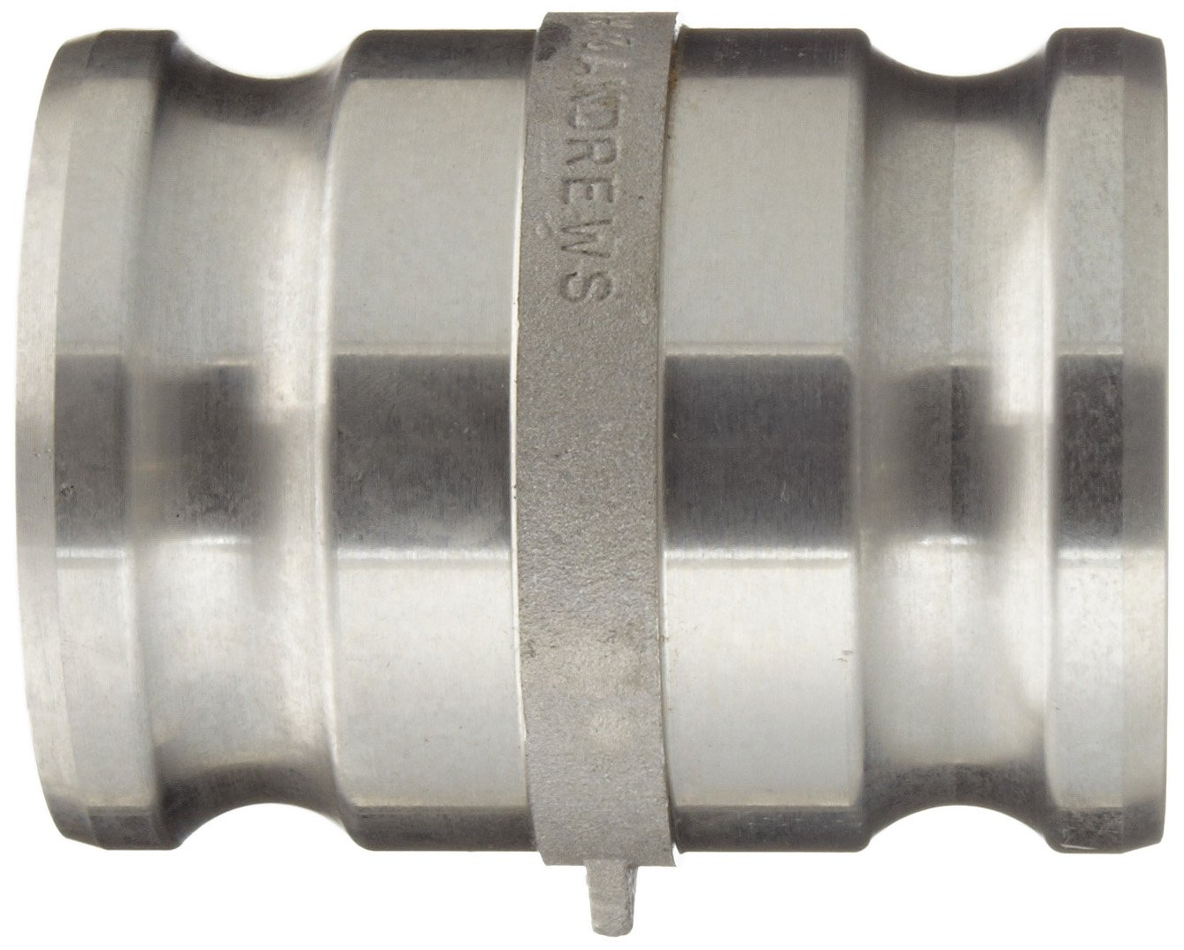 Dixon 300-AA-AL Aluminum Cam and Groove Hose Fitting, Spool Adapter, 3'' Plug by Dixon Valve & Coupling (Image #3)