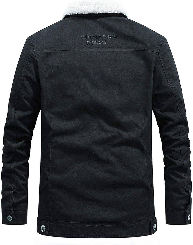 Brand FleeceCotton Slim Warm Parkas Coat Outwear Windbreaker Military Jacket Velvet Clothing