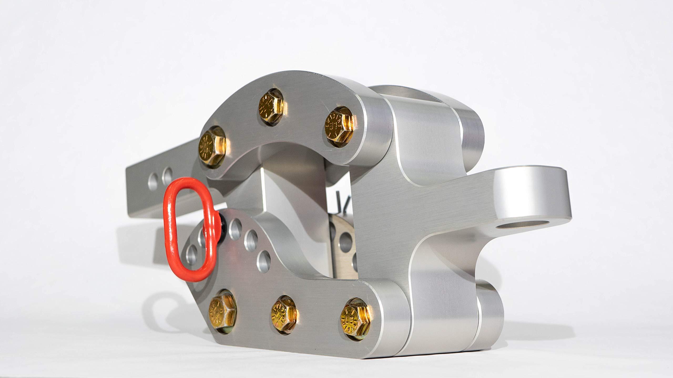 Rhino Hitch 2.5″ Aluminum Adjustable Hitch by Rhino Hitch Inc.
