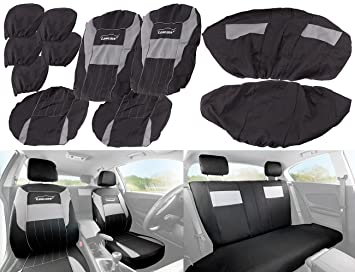 Astonishing Lescars Seat Covers With Side Airbag Universal Car Seat Unemploymentrelief Wooden Chair Designs For Living Room Unemploymentrelieforg