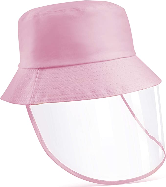 Protective Hat with Face Shield for Kids & Adults Small/Medium Size Hat Perimeter 52/58CM WAS £13.99 NOW £6.99 w/code 50H2FYMQZH @ Amazon