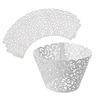 Leadstar 50 Stuck Cupcake Wrappers Kuchen Muffin Pappbecher Formchen