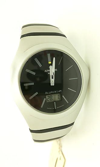 Reloj Cab Junghans radiocontrolado Aluminio y Caucho