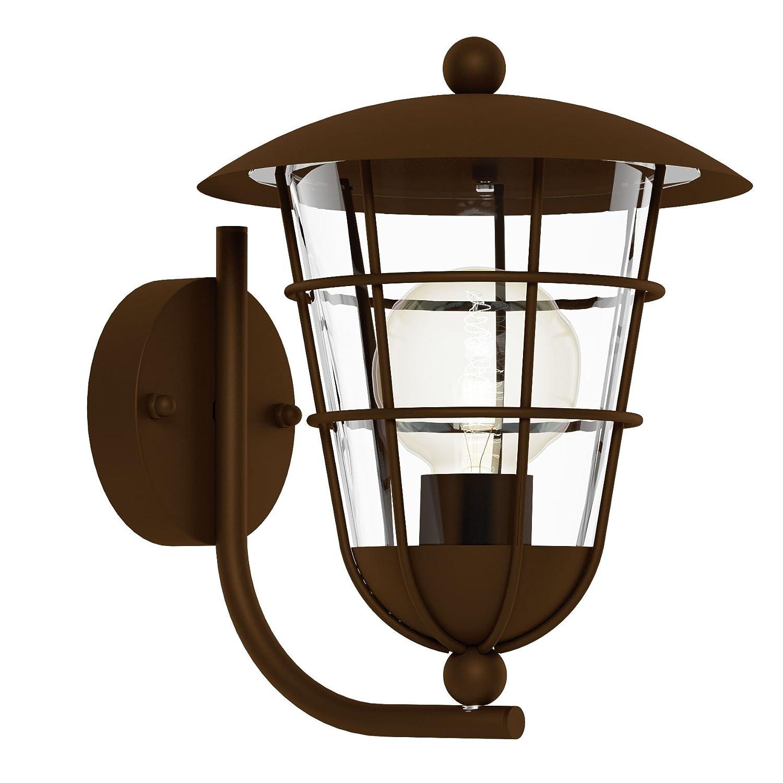 Eglo 94854lampada da esterno, Argento [Classe di efficienza energetica D]