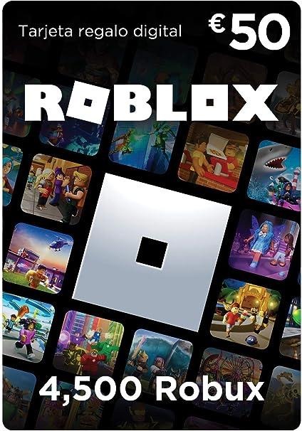 Tarjeta Regalo De Roblox 2 000 Robux Amazon Es Videojuegos